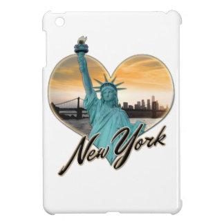 NYC New York City Skyline Souvenir Lady Liberty Cover For The iPad Mini