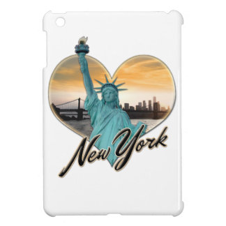 NYC New York City Skyline Souvenir Lady Liberty iPad Mini Covers