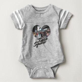NYC New York City Skyline Souvenir Times Square Baby Bodysuit