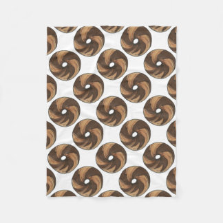 NYC New York Marble Rye Bagel Bagels Food Blanket