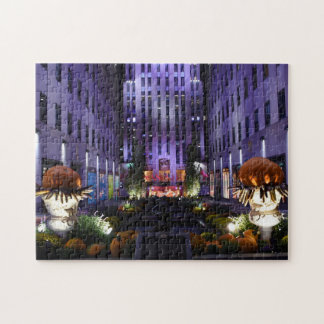 NYC New York Rock Center Photography Architecture Jigsaw Puzzle
