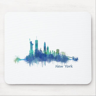NYC New York Skyline v5 Mouse Pad