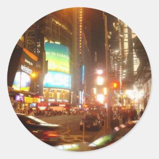 NYC Night sticker