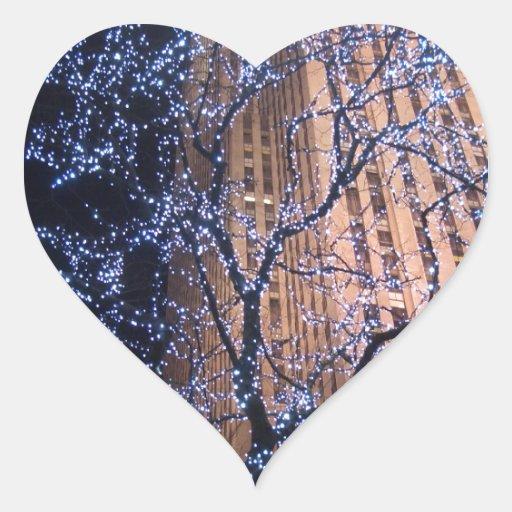 NYC Nightwalk CricketDiane WalkAbout Heart Sticker