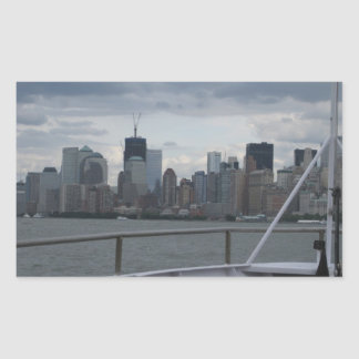 NYC on the bow Stickers