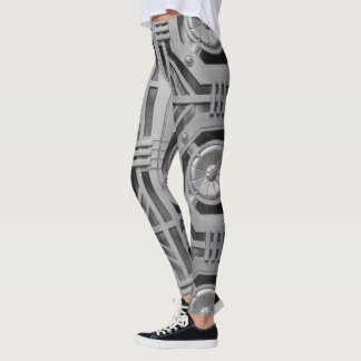NYC On The Street Leggings-Architectural Detail Leggings