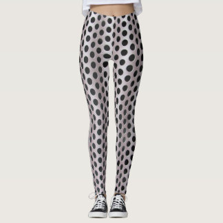NYC On The Street Leggings- Vent Dots Leggings