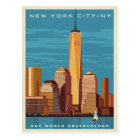 NYC - One World Observatory Postcard