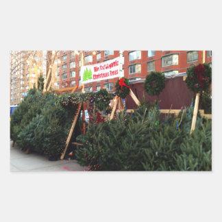 NYC Organic Christmas Trees Tree Stand Stickers