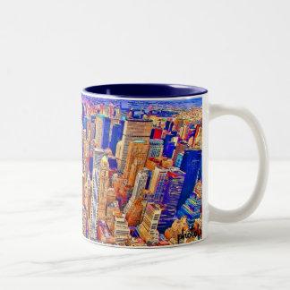 NYC Pop Two-Tone Coffee Mug