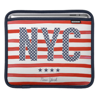NYC | Red, White & Blue Design iPad Sleeve
