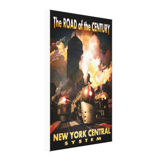 NYC Road Of The Century Canvas Print