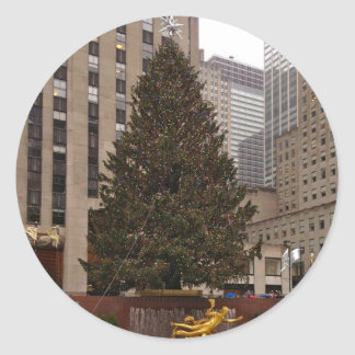 NYC Rockefeller Center Christmas Tree Stickers