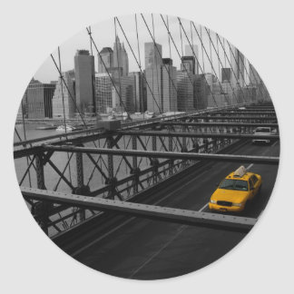 NYC ROUND STICKER