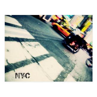 NYC Rush Postcard