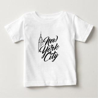 NYC Script Text Baby T-Shirt