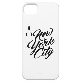 NYC Script Text iPhone 5 Cover