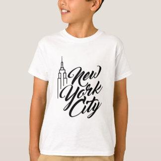 NYC Script Text T-Shirt