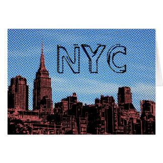 nyc sketch card