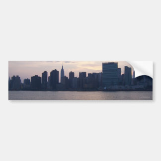 NYC Skyline - Bumper Sticker