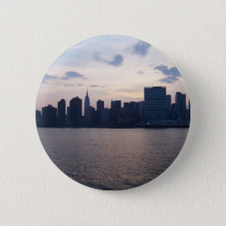NYC Skyline - Button