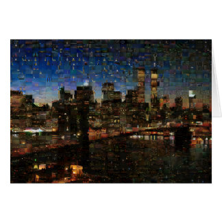 NYC Skyline Card