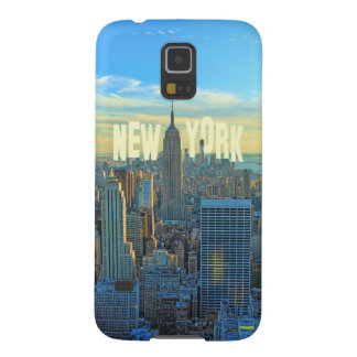 NYC Skyline Empire State Building, World Trade 2C Galaxy S5 Cases