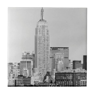 NYC Skyline IV Ceramic Tile