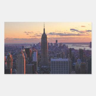 NYC Skyline just before sunset