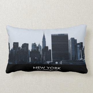 NYC Skyline Lumbar Pillow