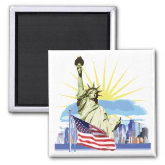 NYC Skyline Magnet