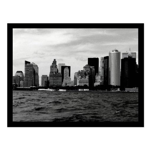 NYC Skyline Post Card