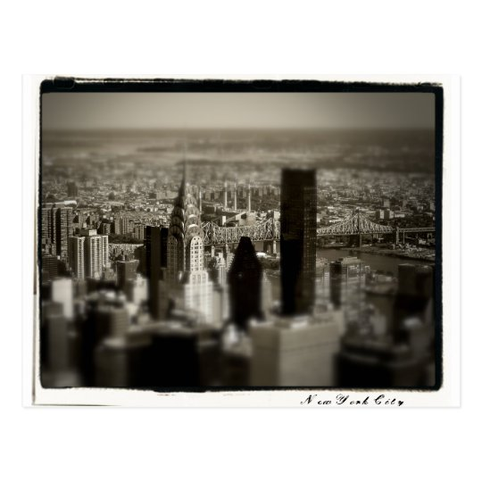 NYC Skyline Postcard
