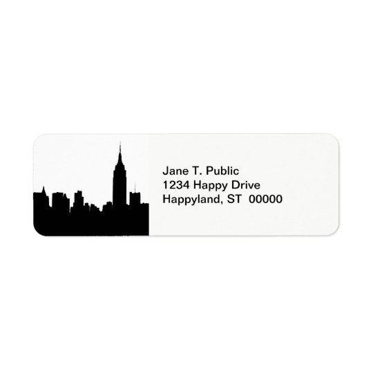 NYC Skyline Silhouette, Empire State Bldg #1