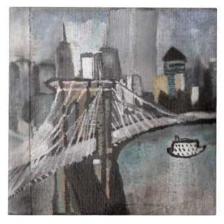 NYC Skyline Tile