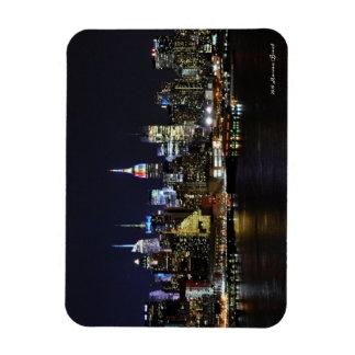 NYC Skyline with Rainbow ESB Magnet