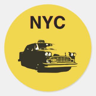 NYC ROUND STICKER