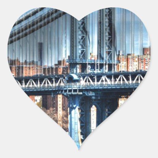 NYC HEART STICKER