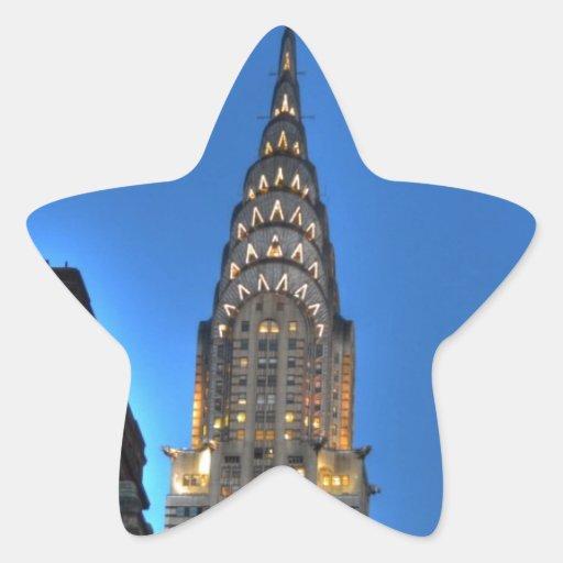 NYC STAR STICKERS