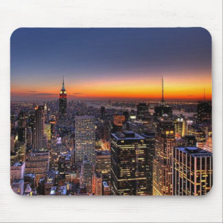 NYC sunset Mousepad