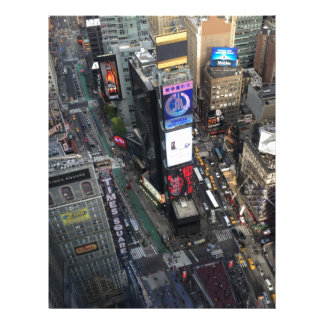 NYC Times Square Letterhead