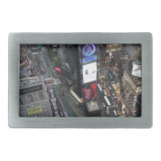 NYC Times Square Rectangular Belt Buckle