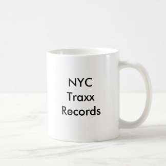NYC Traxx Records Coffee Mug