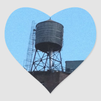 NYC Water Tower Heart Sticker