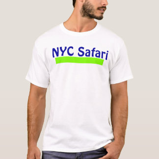 NYC White Safari Tee