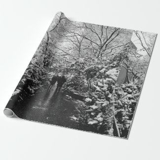 NYC Winter Wonderland Wrapping Paper