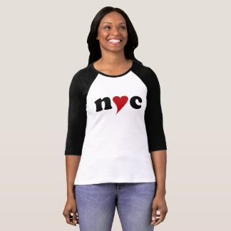 nyc with heart T-Shirt