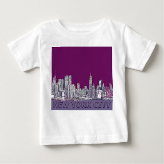 NYC with purple lilac T Shirts