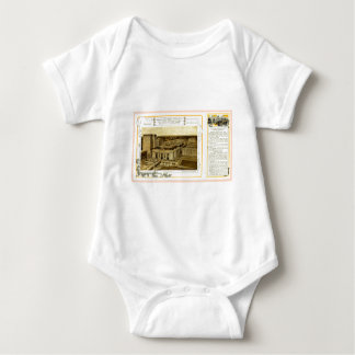 NYCentral Railroad Flyer - Grand Central Terminal Baby Bodysuit