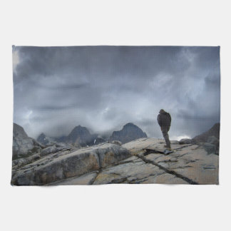 Nydiver Lakes 2 - Ansel Adams Wilderness - Sierra Kitchen Towel